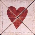 Valentine card circa 1790