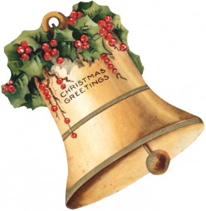 Christmas Greetings, A Decorated Bell