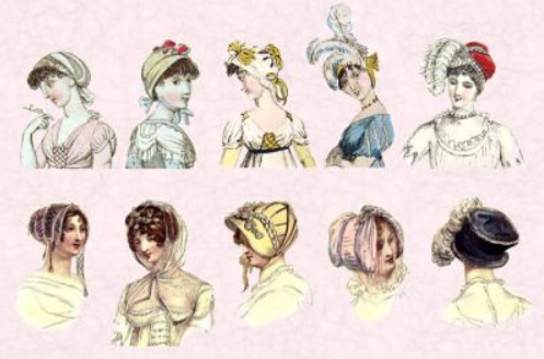 Regency Hats. (Photo: public domain)