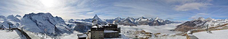 Swiss Alps near Zermatt, Switzerland