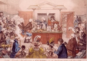 Humphry Davy at the Royal Institution
