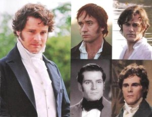 Mr  Darcy - all five for Regency Reflections small