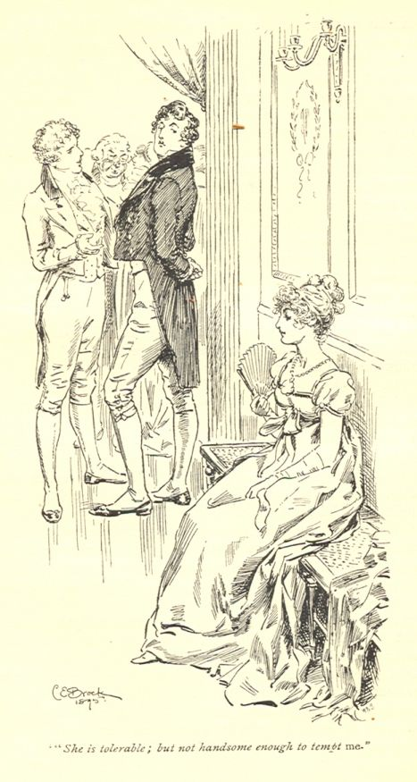 From an 1895 illustrated edition of Pride and Prejudice.