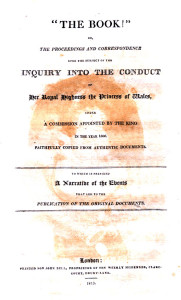 Enquiry into a princess' conduct.