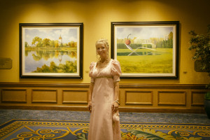 Julie Klassen at the Ball