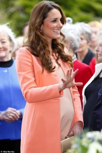 The Duchess of Cambridge Source: The Daily Mailer