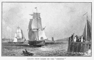Sailing in 1812 from Salem_Harbor