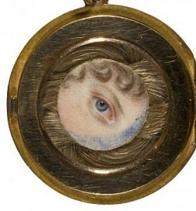 Princess Charlotte's eye